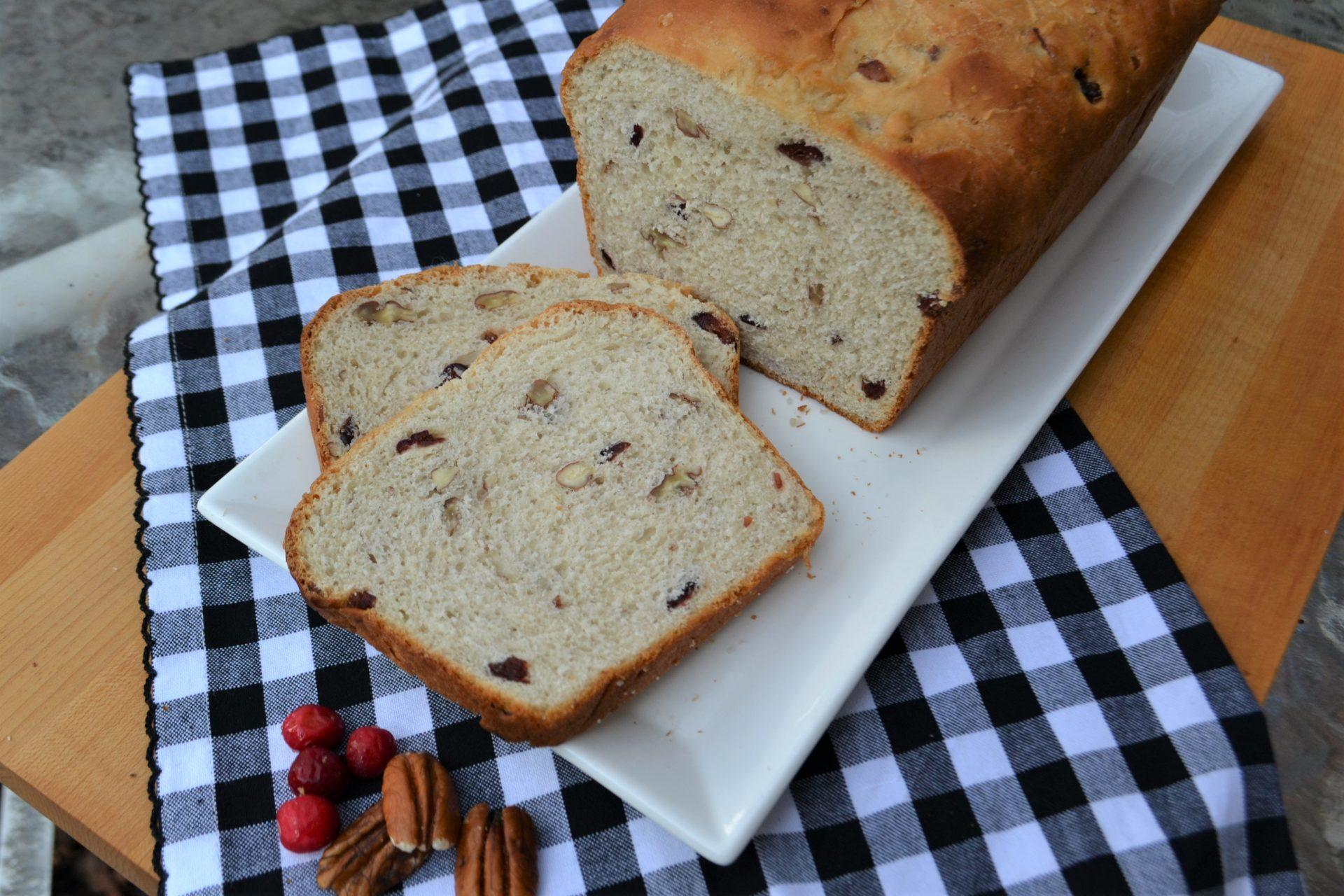 Cranberry Pecan Yeast Bread-lizbushong.com- 2