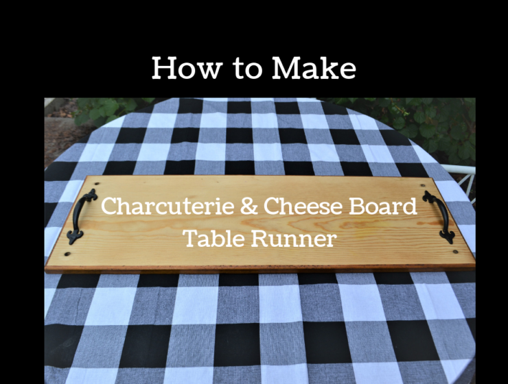 How to Make Charcuterie & Cheese Board Table runner-lizbushong.com
