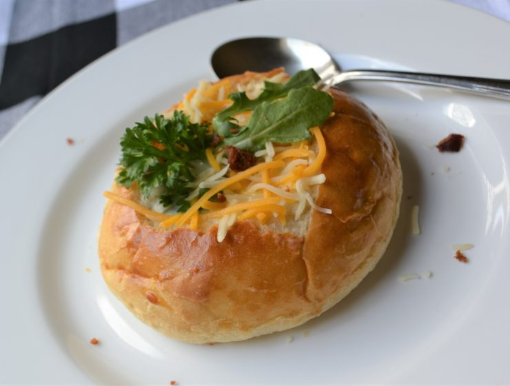 Soup Bread Bowl 1 lizbushong.com