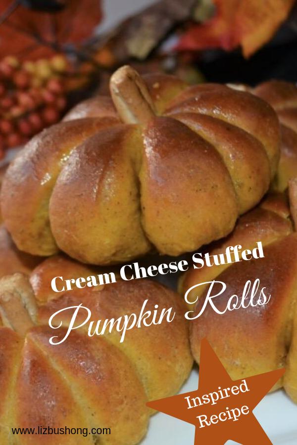 Stuffed Pumpkin Rolls-lizbushong.com