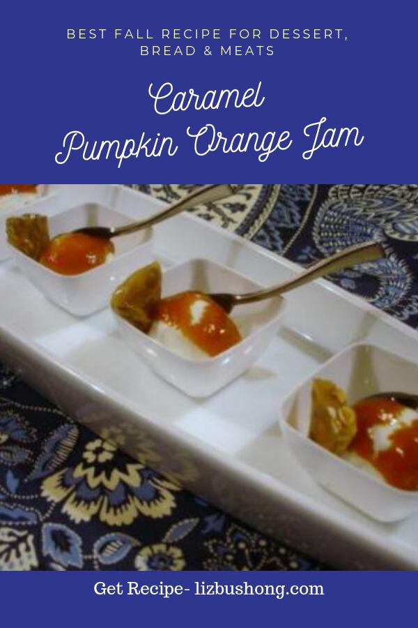 caramel pumpkin orange jam lizbushong.com