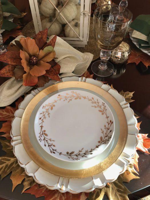 Creative Table Setting Idea|Thanksgiving to Christmas.lizbushong.com