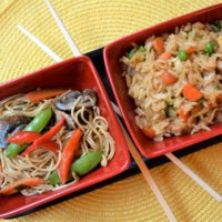 Lo Mein Fried Rice Dinner 1 lizbushong.com