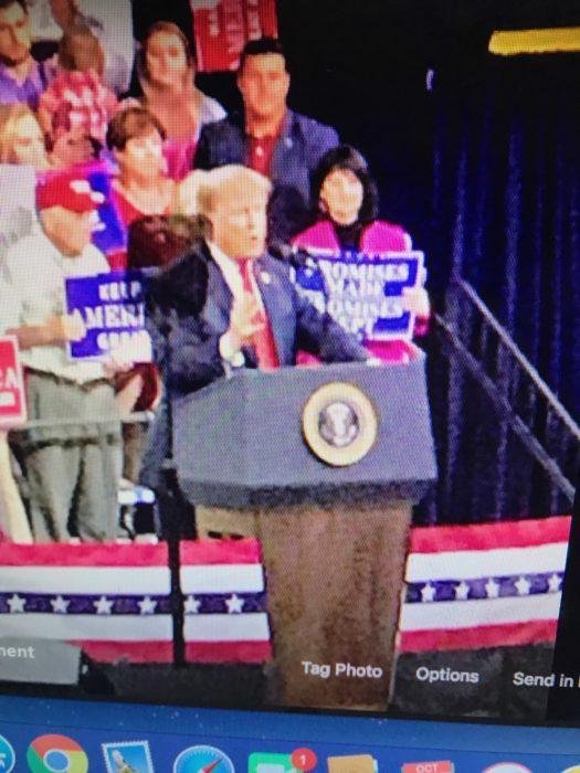 Trump Rally- lizbushong.com