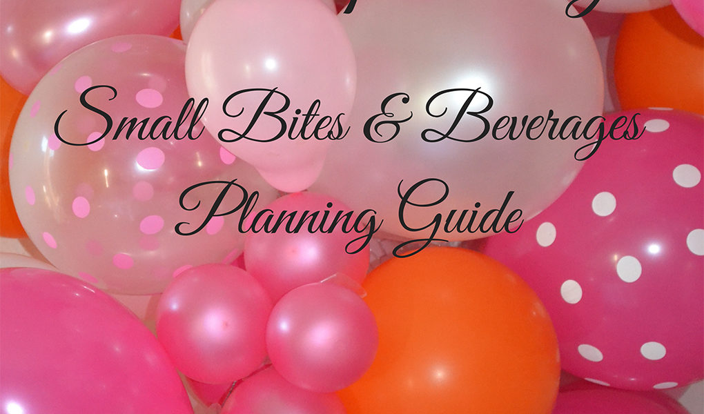 Entertaining Planning Guide lizbushong.com