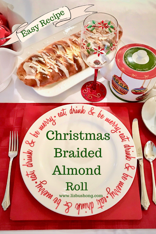 Best Braided Almond Roll Recipe lizbushong.com