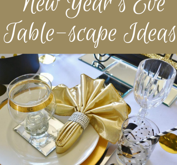 How to set a New Year's eve table- lizbushong.com
