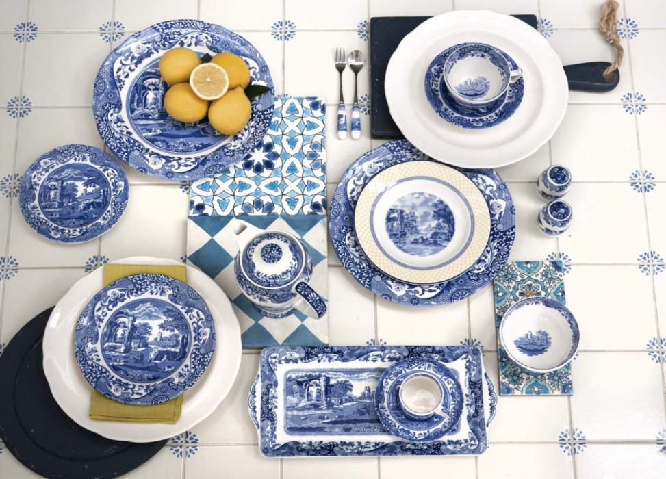 shop-Blue & white dinnerware lizbushong.com