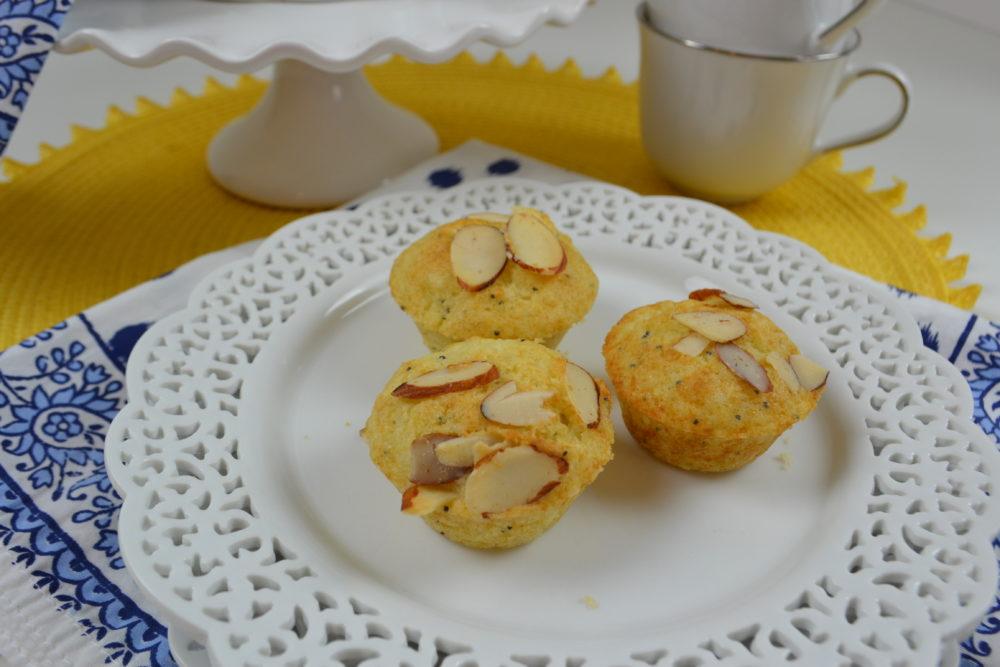 Almond Poppy Seed Muffins -lizbushong.com
