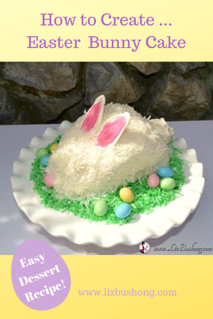 How to Create ... Easter Bunny Cake