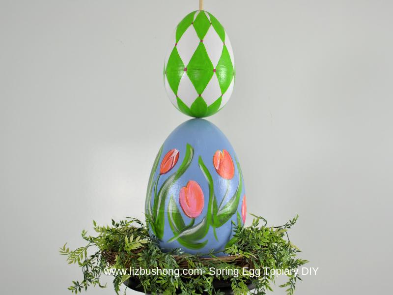 Spring Egg Topiary-lizbushong.com