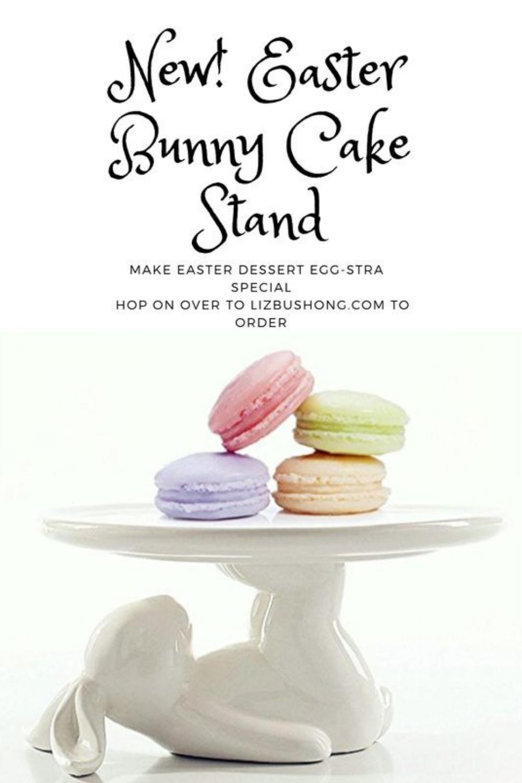 Store- Bunny Cake Stand, lizbushong.com