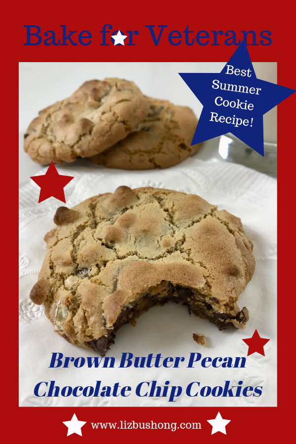 Best Brown Butter Pecan Chocolate Chip Cookie- lizbushong.com