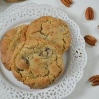 Brown Butter Pecan Chocolate Chip Cookie Recipe