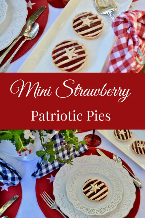 Mini Strawberry Pies lizbushong.com