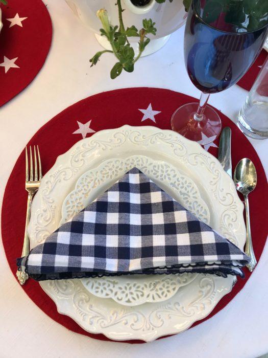 Tavern napkin fold- flat fold-lizbushong.com