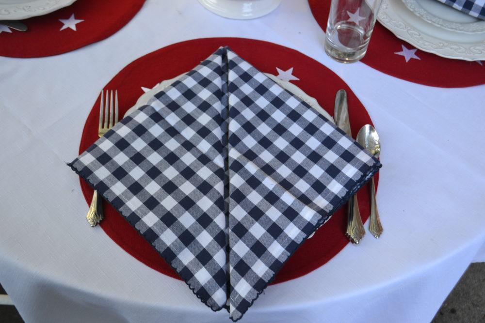 Tavern napkin fold step 3 lizbushong.com