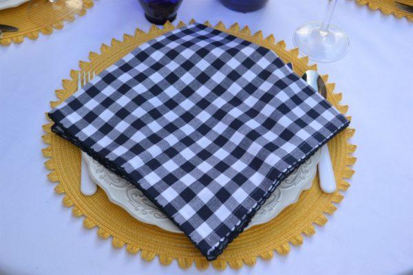 Astoria Napkin Fold Step 1 lizbushong.com