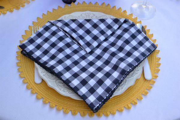 Astoria Napkin Fold Step 2 lizbushong.com
