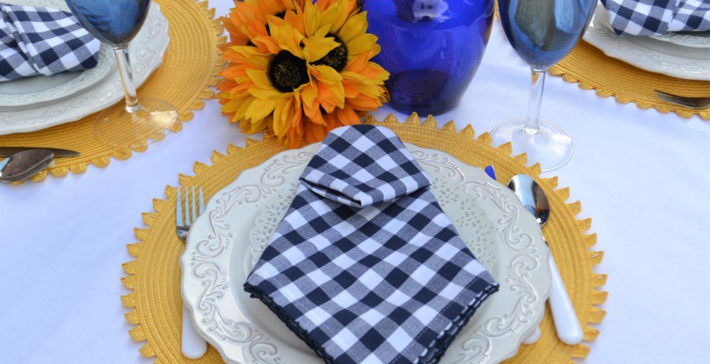 Astoria Napkin Fold place setting-lizbushong.com