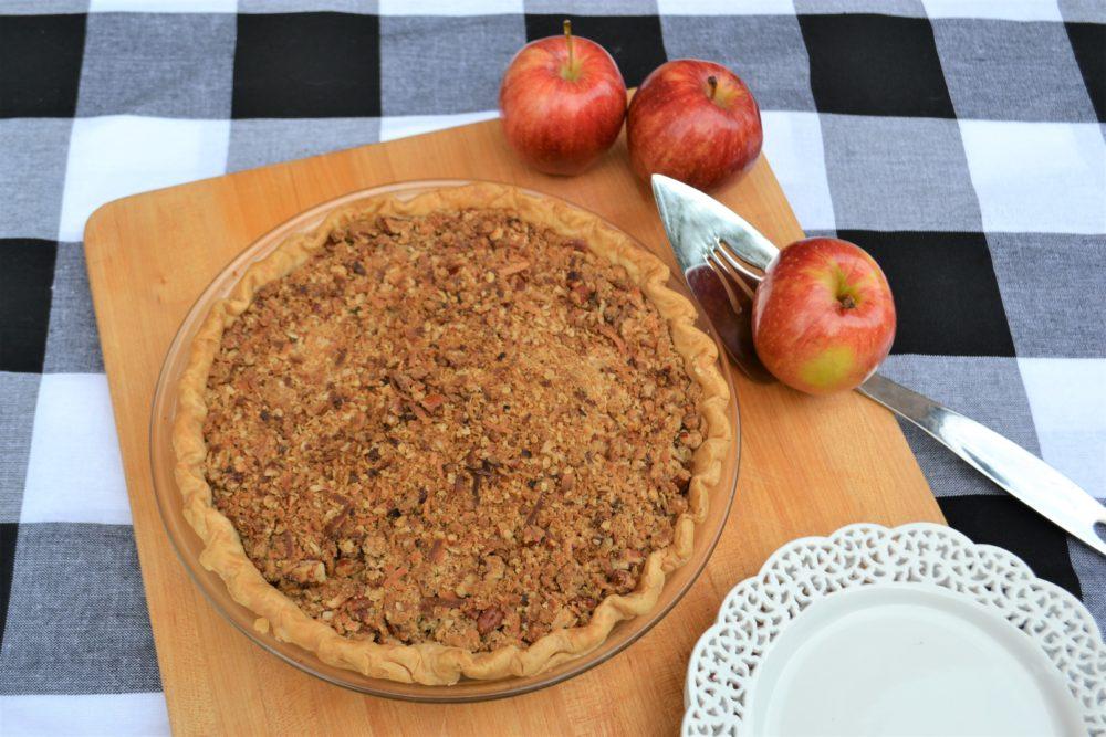 Apple Crumble pie lizbushong.com