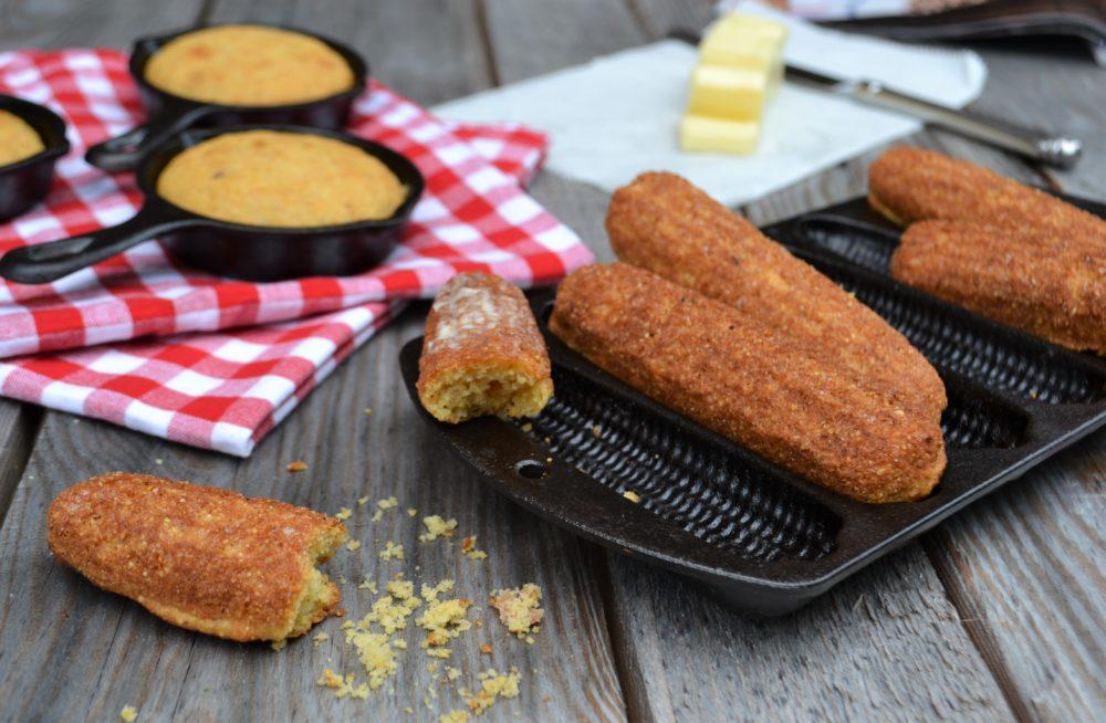 Cornbread sticks, lizbushong.com