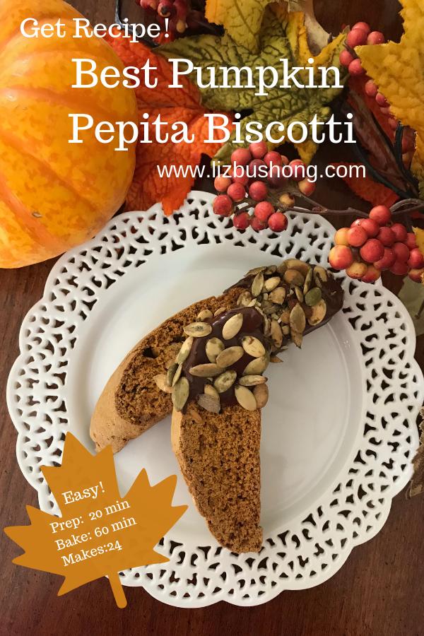Best Pumpkin Biscotti. lizbushong.com png