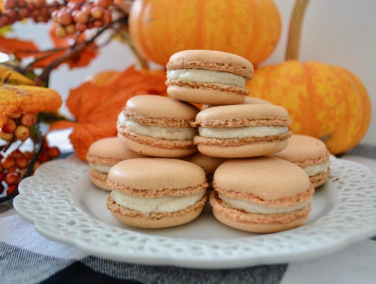 Best Pumpkin Spice Macrons
