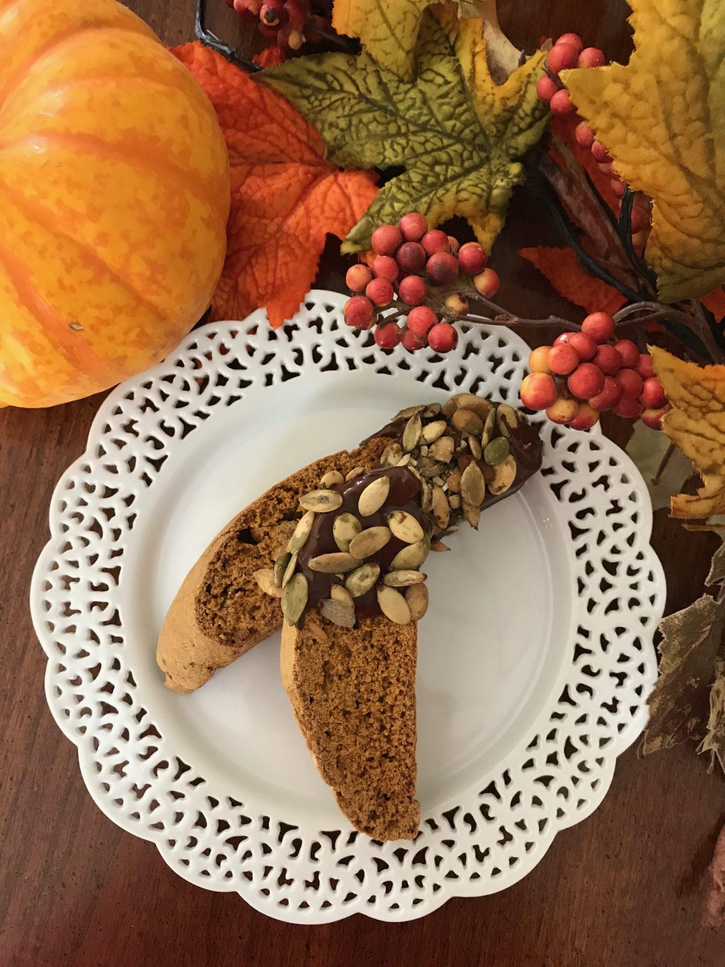 Best pumpkin pepita biscotti lizbushong.com