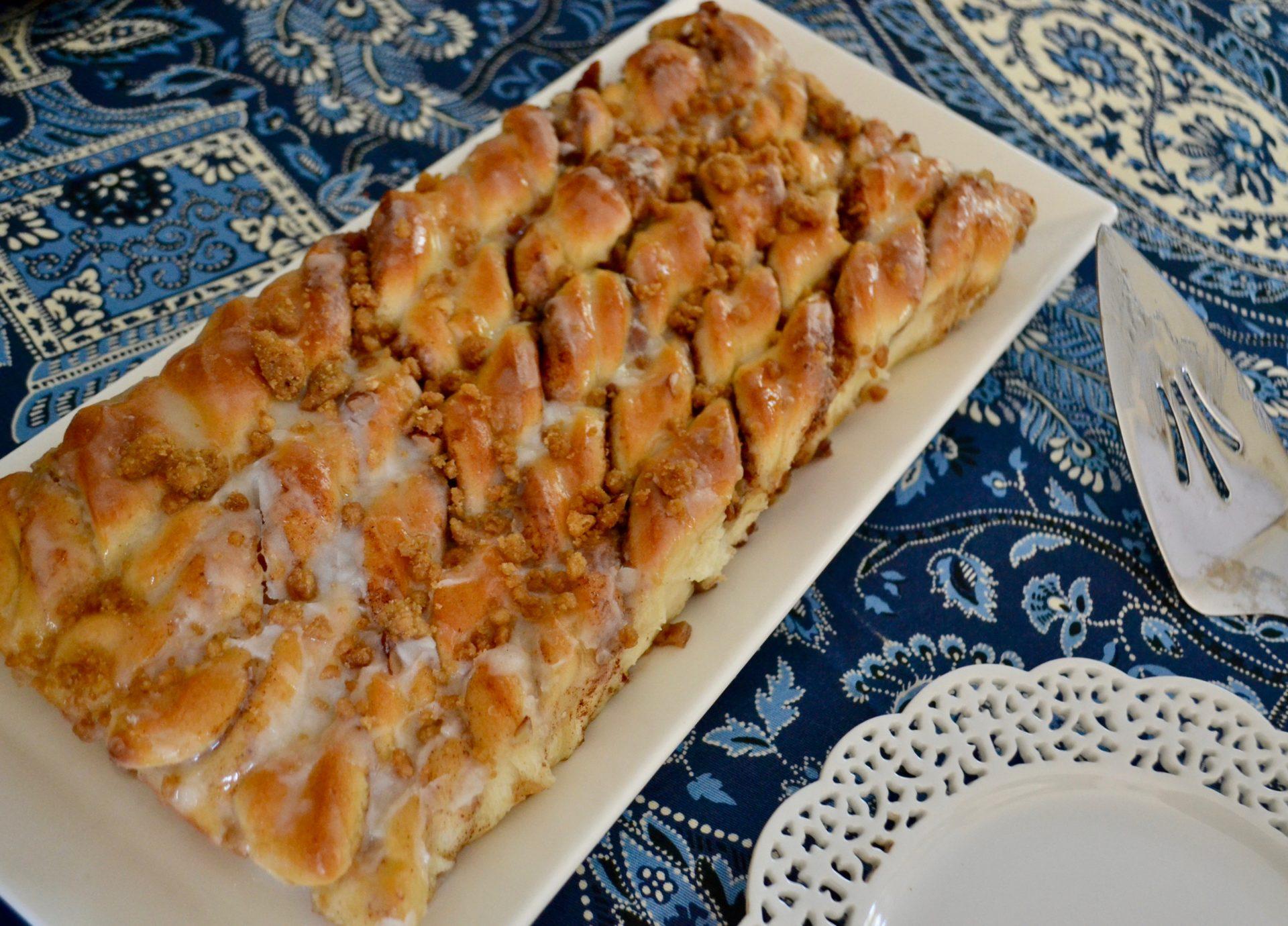 Pecan Cinnamon Sweet Twist Rolls lizbushong.com