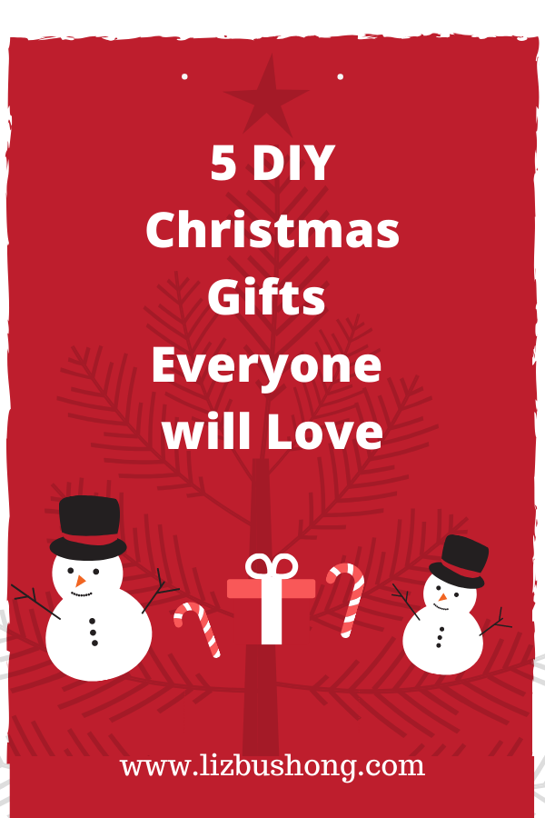 5 DIY Christmas Gifts Everyone will Love