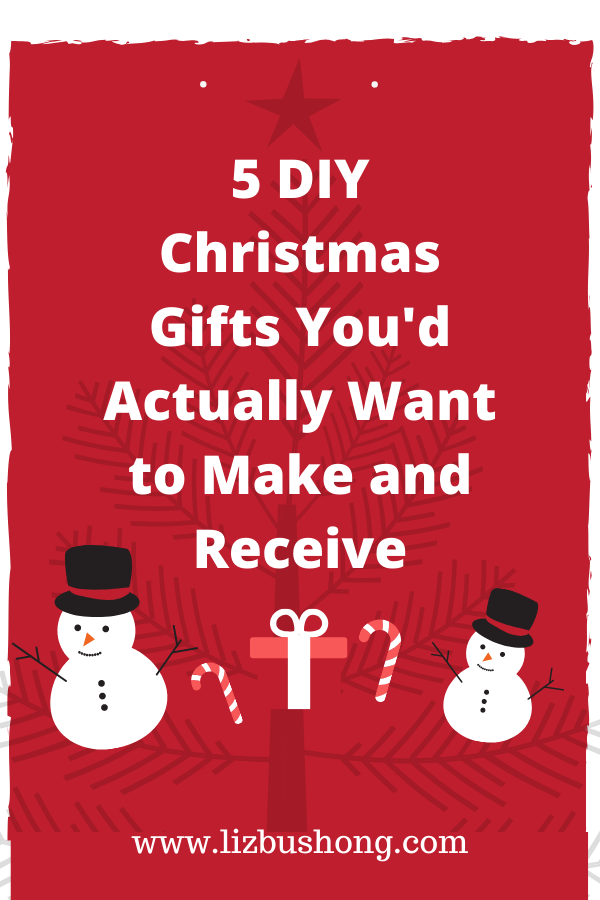5 DIY Christmas Gifts You'd Actually Want to Make and Receive