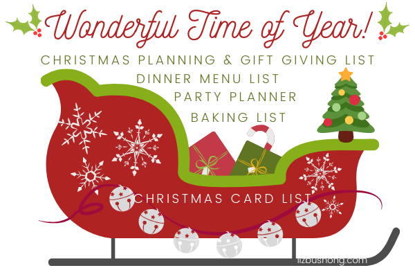 Christmas Planning Guide Checklist