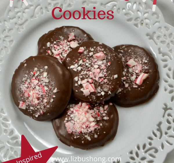 Best Peppermint Bark Chocolate Sugar Cookie Recipe lizbushong.com