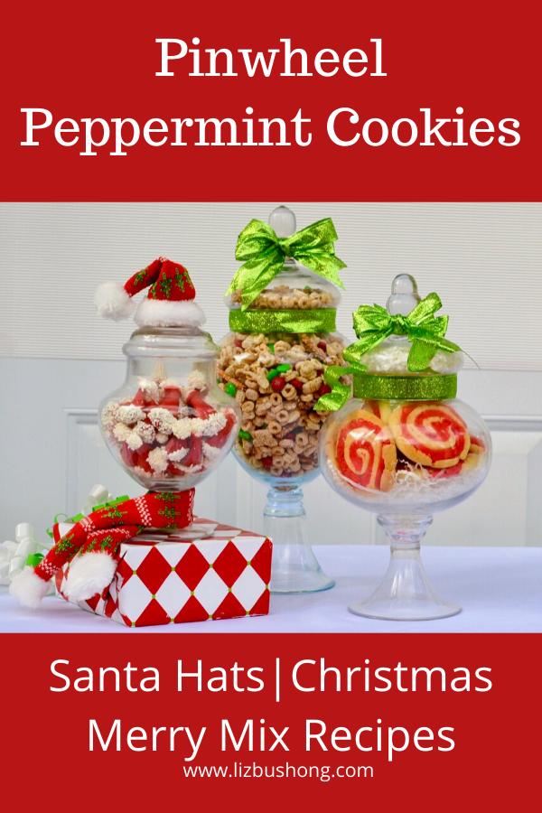 Pinwheel Peppermint Cookies- lizbushong.com
