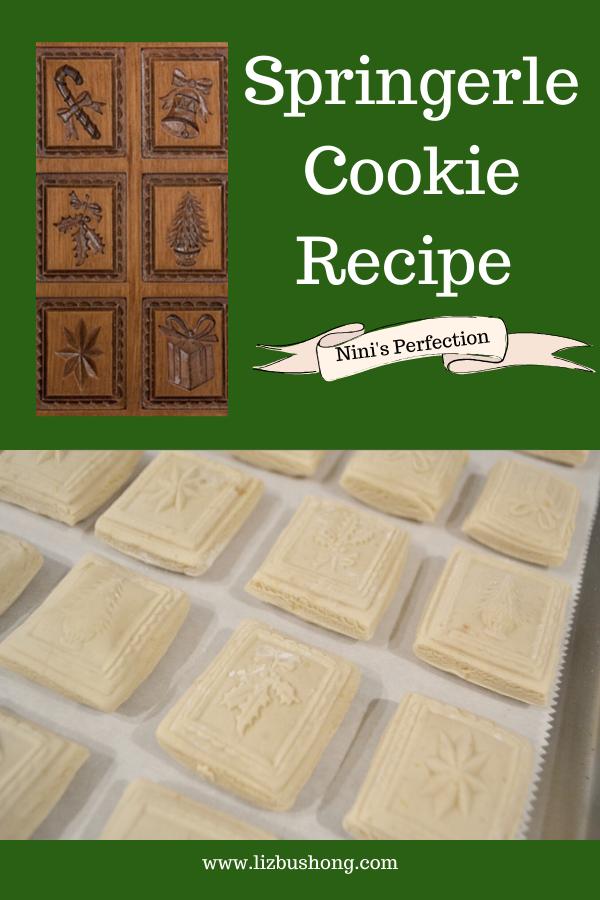 Springlerle Cookie Recipe