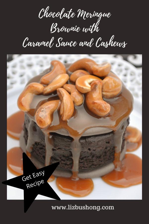 Meringue Brownie Dessert Recipe lizbushong.com