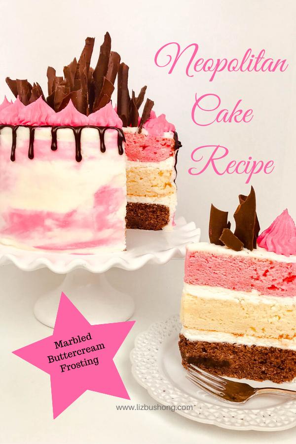 How to Make a Neopolitan Cake Recipe lizbushong.com