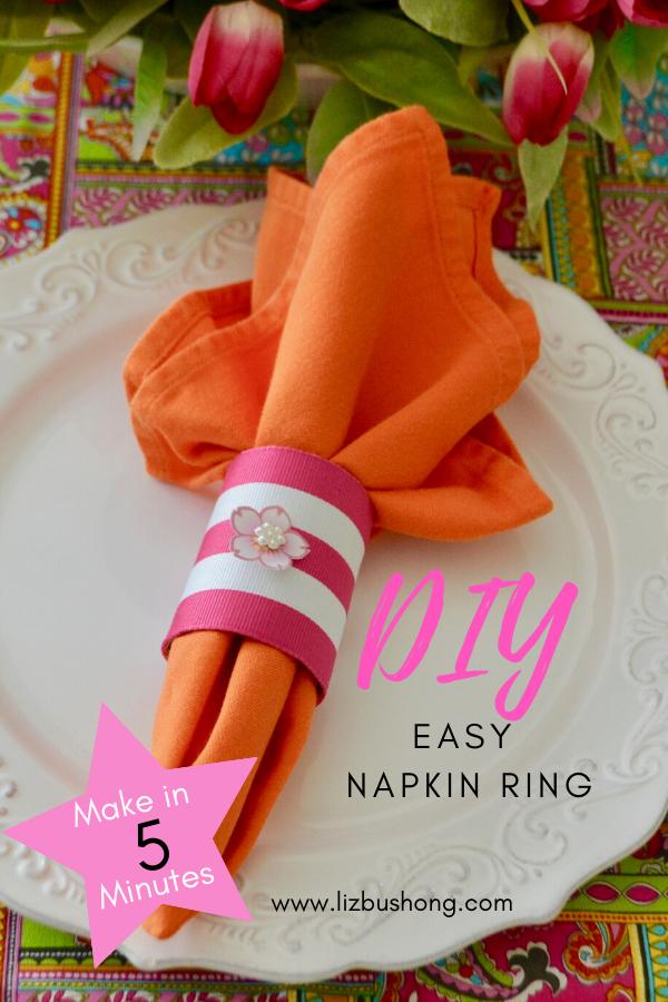 5 Minute Napkin Ring lizbushong.com