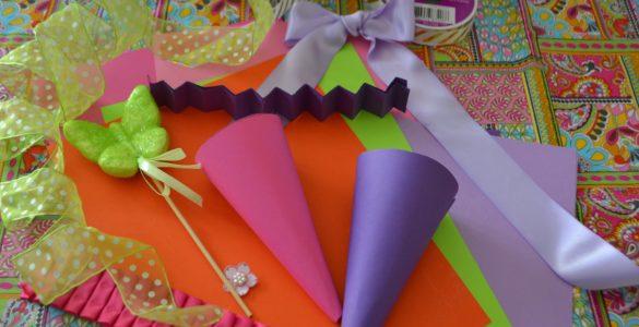 DIY Easter Candy Cones Card Stock Lizbushong.com