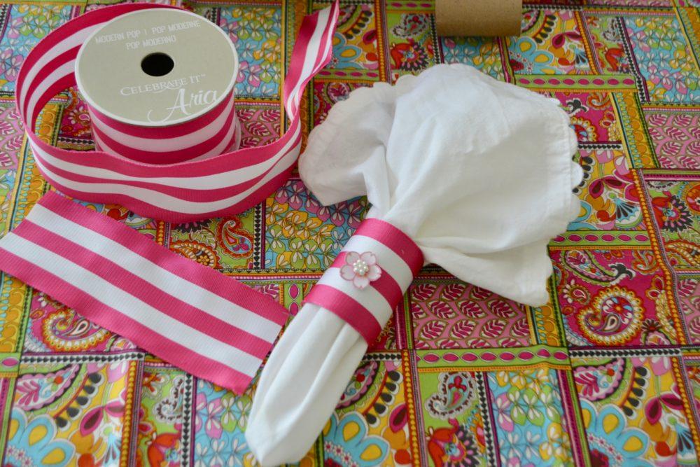 DIY 5 minute Napkin Ring lizbushong.com