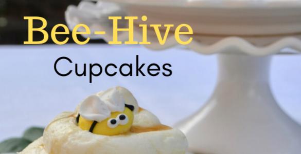 Honey Bee Cupcakes Recipe lizbushong.com