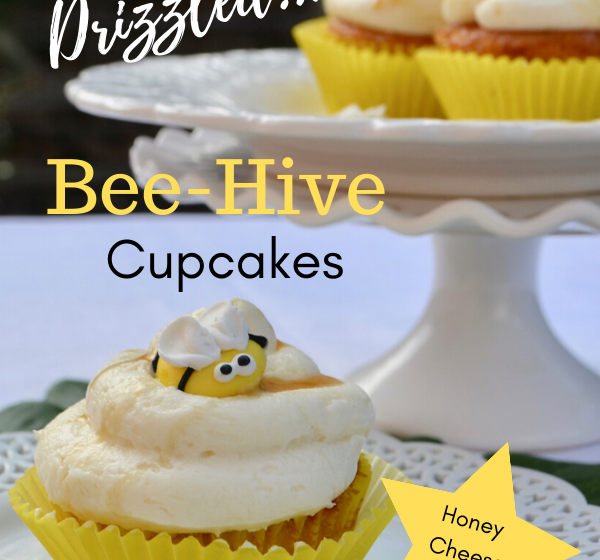 Honey Bee Cupcakes Recipe lizbushong.com