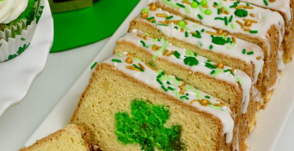 Pistachio Shamrock Cake Recipe