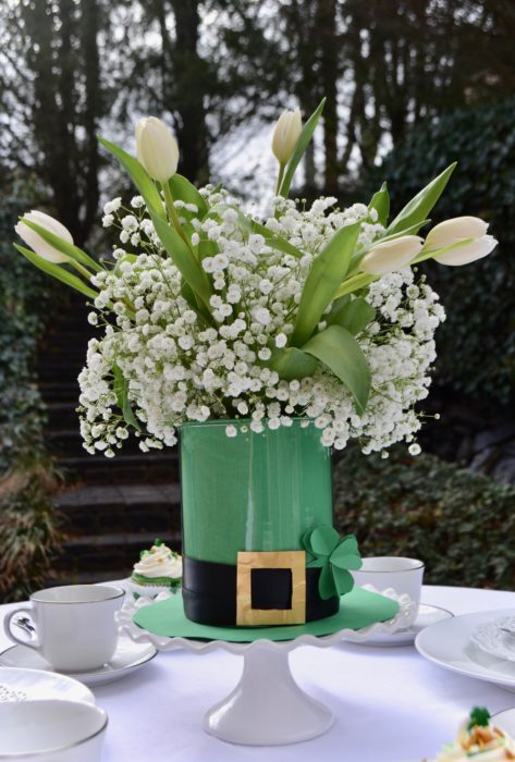 St. Patricks Day Centerpiece lizbushong.com