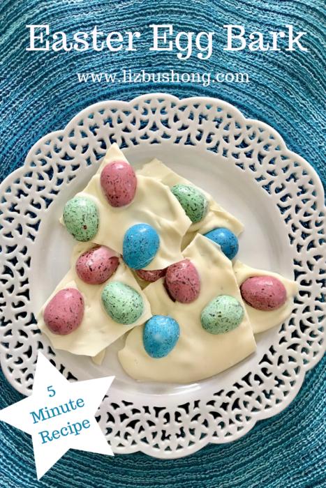 Easter Egg Bark Recipe lizbushong.com