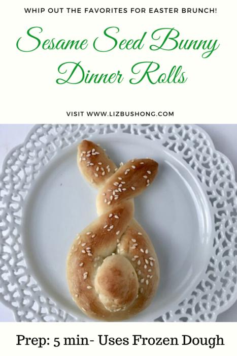4 easy Recipes for Easter Brunch\bunny rolls lizbushong.com