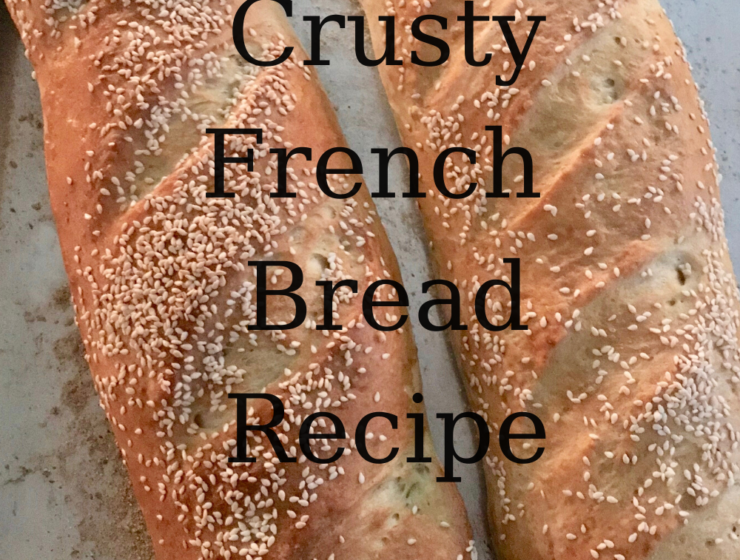 Crusty French Bread Recipe lizbushong.com