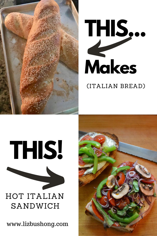 Italian Sub Sandwich Recipe lizbushong.com