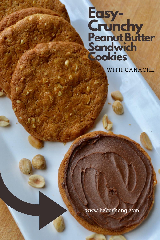 Peanut Butter Sandwich Cookies Lizbushong.com